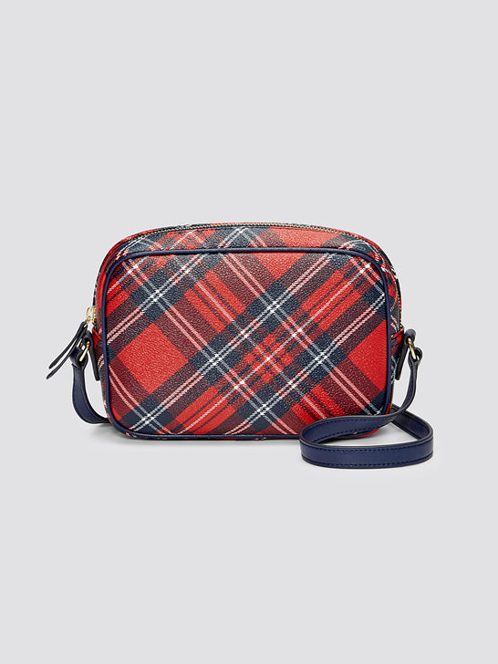 Plaid Crossbody*