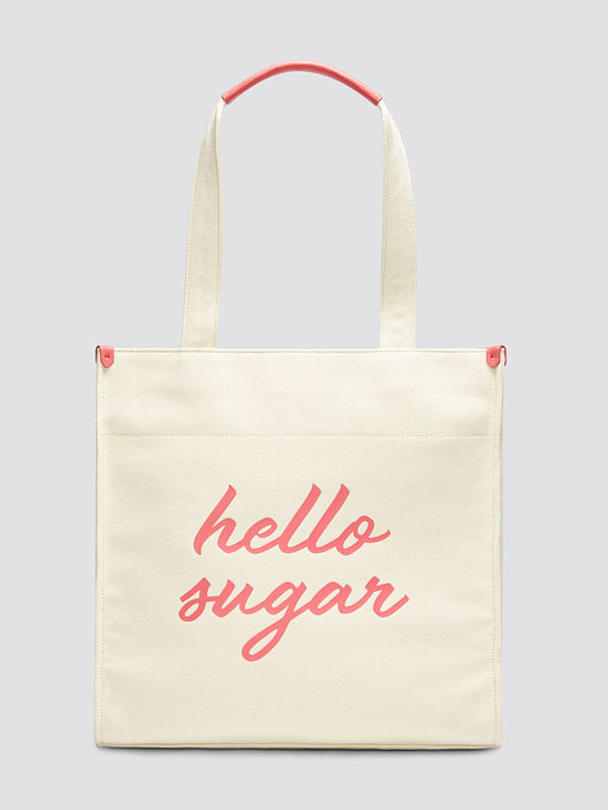 Hello Sugar Canvas Tote*