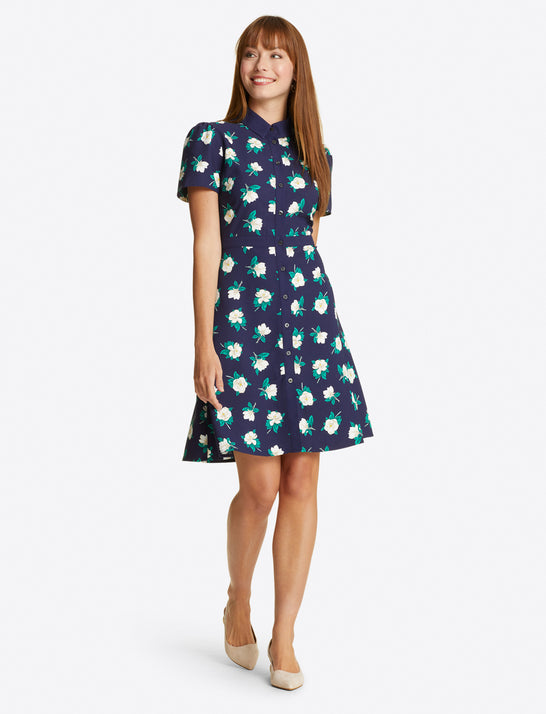 Faith Shirtdress in Magnolia
