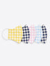 Gingham Mask 5-Pack