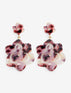 Double Magnolia Drop Earring