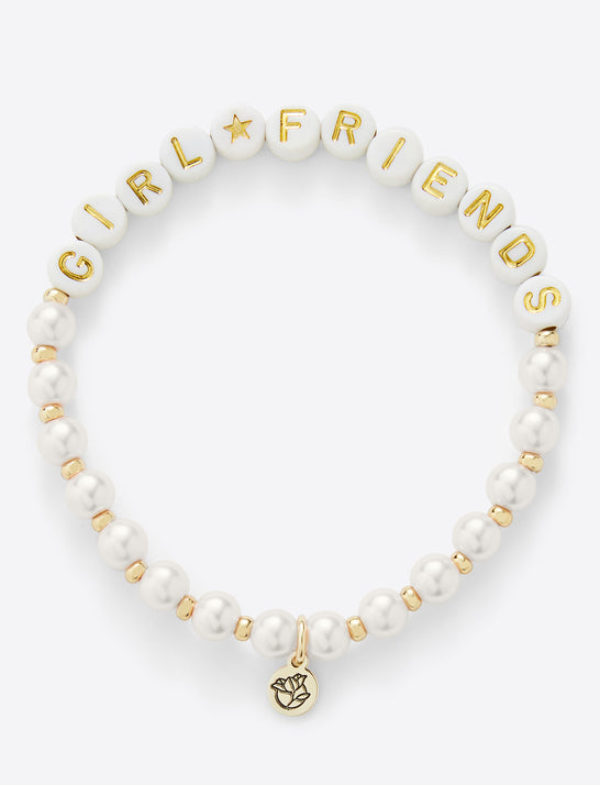 Girlfriends Beaded Sisterhood Bracelet