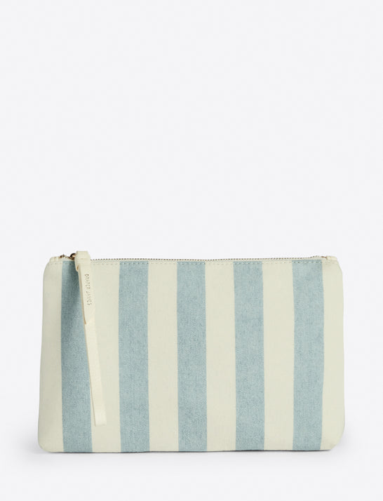 Pouch in Awning Stripe