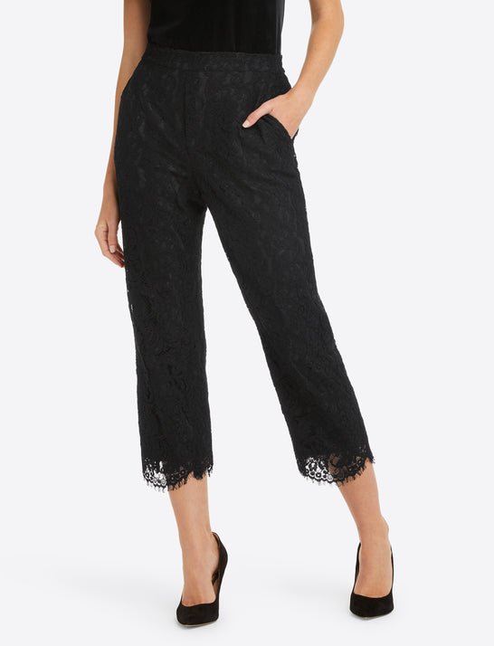 Pull On Pant in Lace