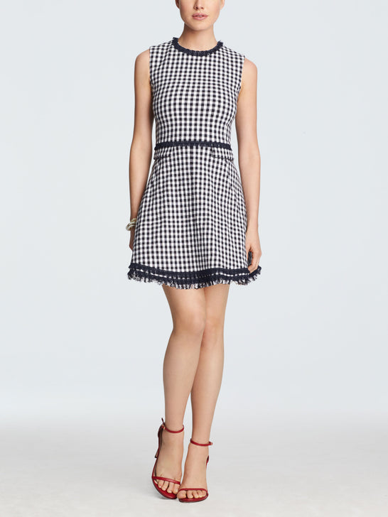 Gingham Love Circle Dress