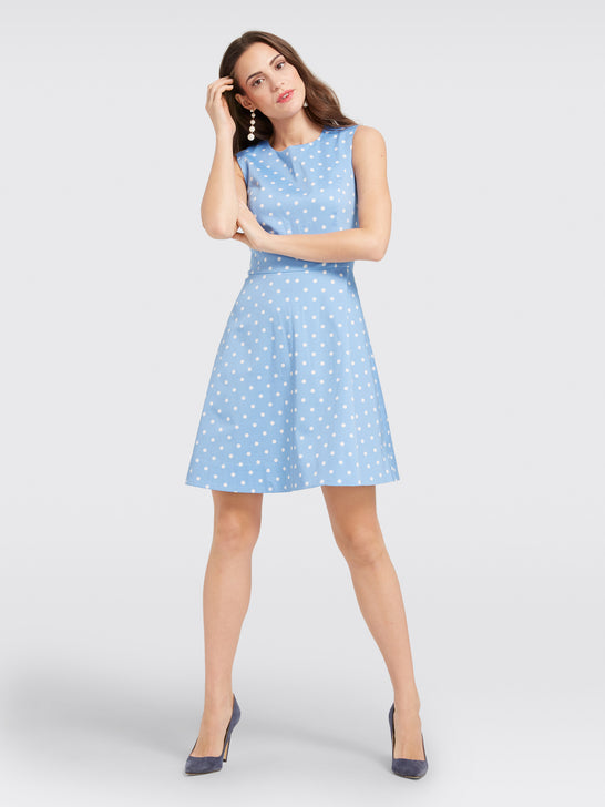 Dot Crew Love Circle Dress