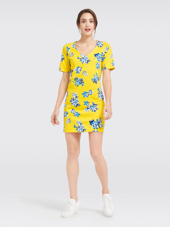 Summerall Floral Hillsboro Knit Dress