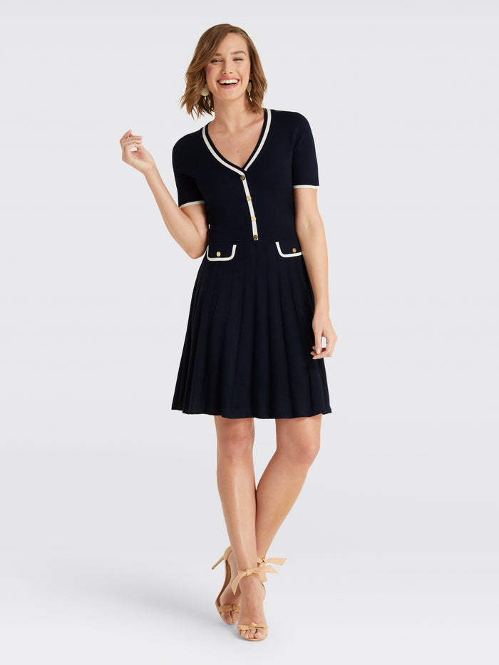 249799af02 Short Sleeve Sweater Dress – Draper James