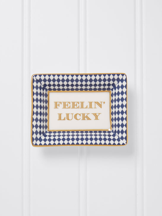 Feelin' Lucky Mini Trinket Tray