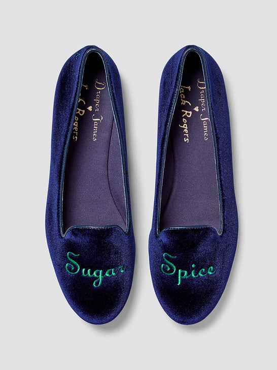 Jack Rogers x Draper James Sugar Spice Loafers