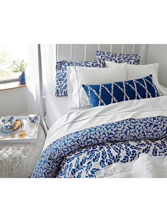 Crate & Barrel Willow Full Sheet Set