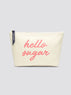 Hello Sugar Canvas Pouch