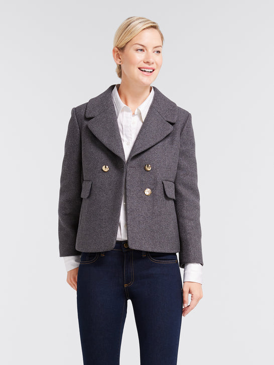 Campbell Short Coat*