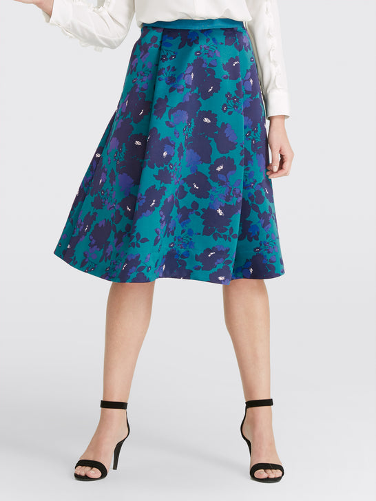 Collection Cutout Floral Skirt