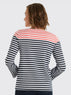 Stripe Ponte Long Sleeve Tee