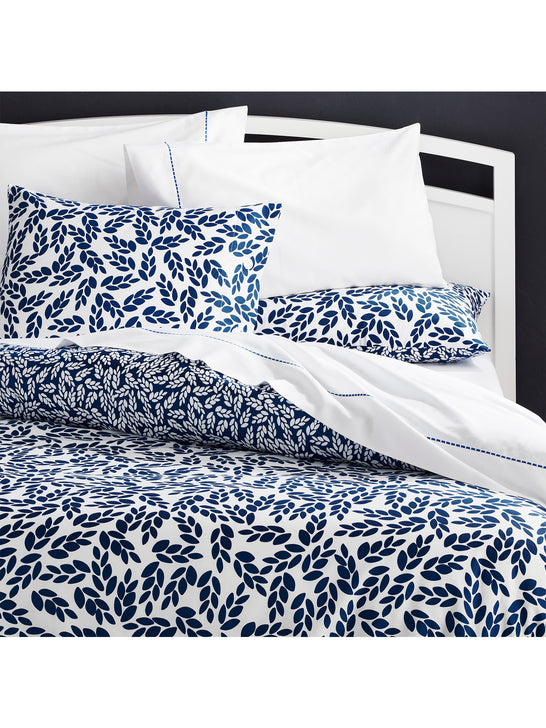 Crate & Barrel Willow Twin Duvet Cover