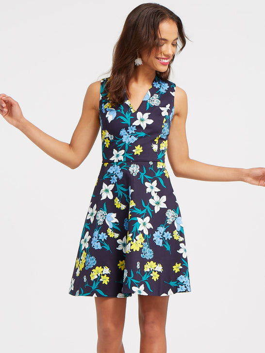Elliston Floral Love Circle Dress