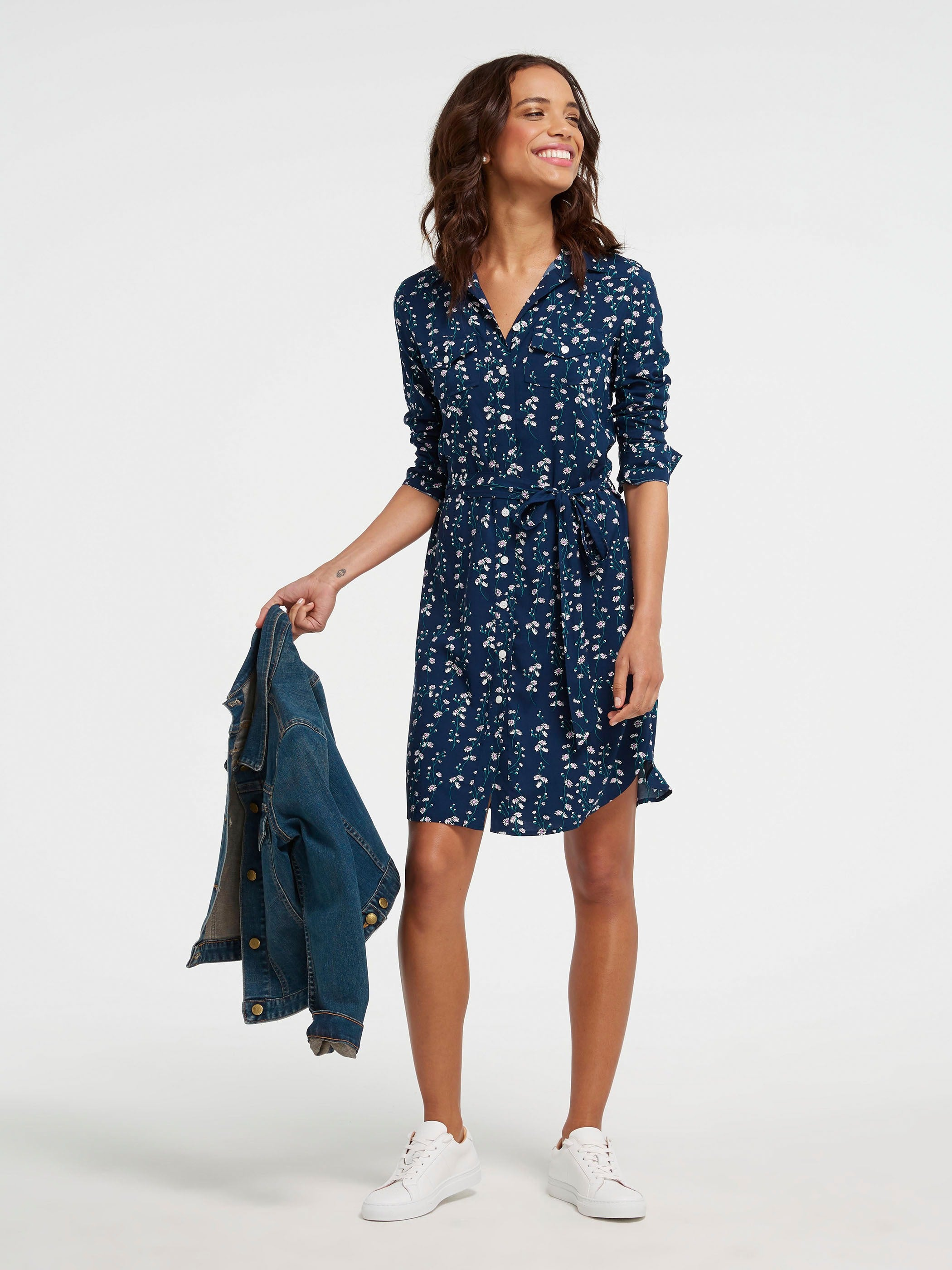 f20384868fd5 Belted Daisy Vine Shirtdress – Draper James