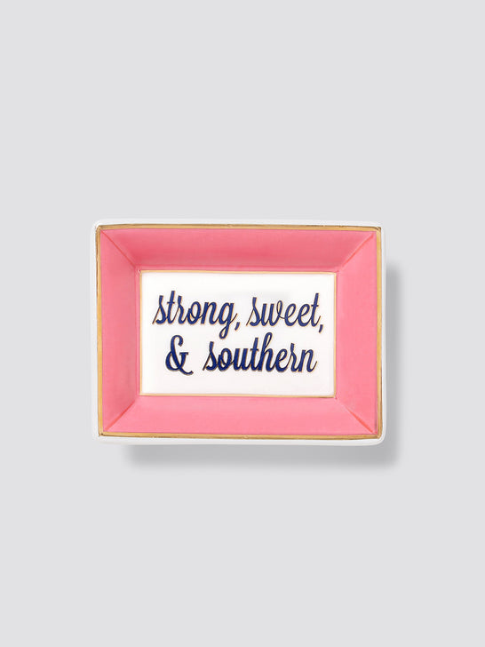 Strong Sweet and Southern Mini Trinket Tray