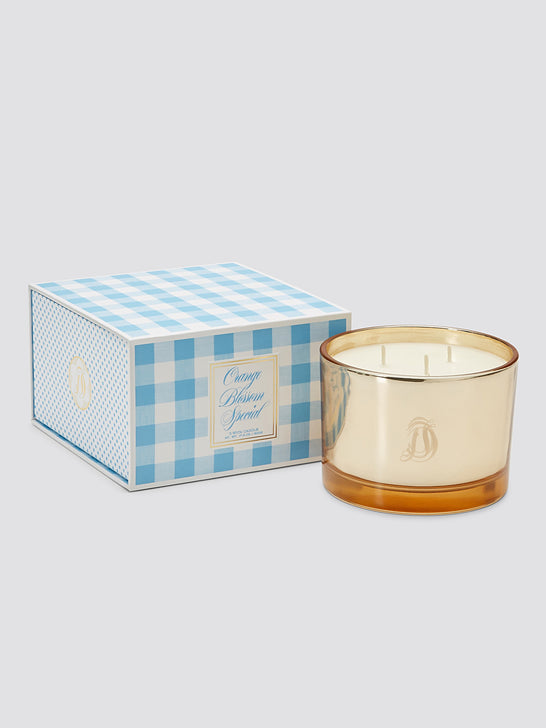 Triple Wick Orange Blossom Candle