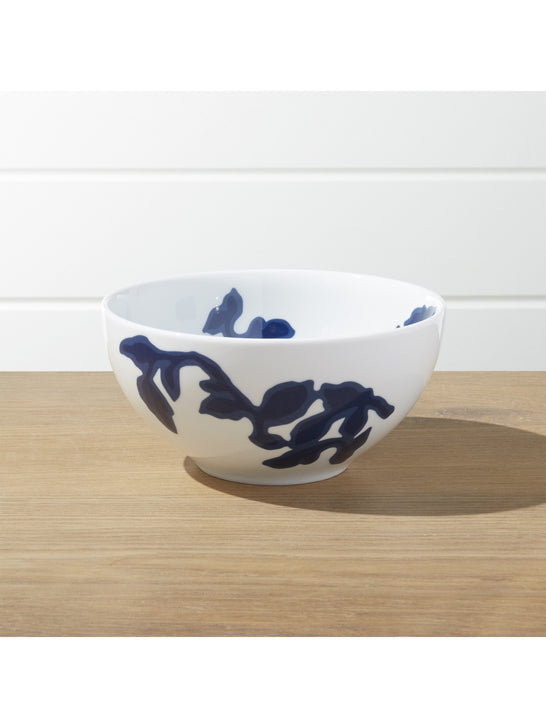 Crate and Barrel x Draper James Indigo Vine Cereal Bowl