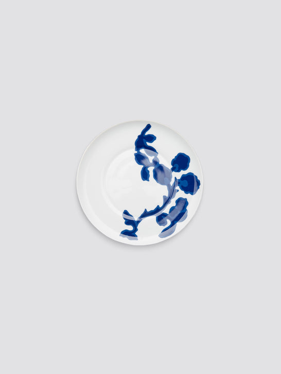Crate and Barrel x Draper James Indigo Vine Salad Plate