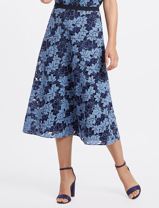 Collection A-Line Lace Skirt