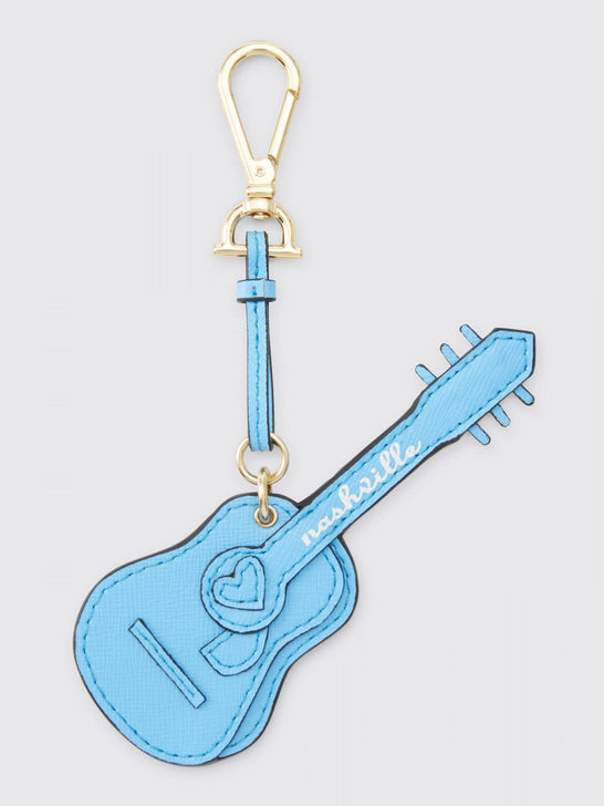 Blue Guitar Key Fob