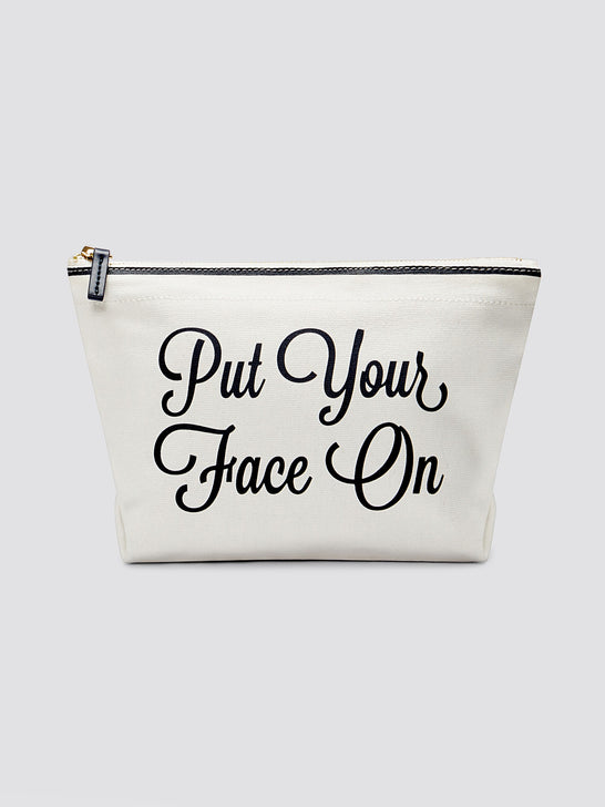 Put Your Face On Pouch