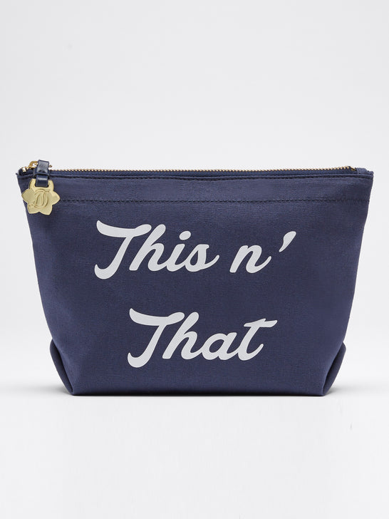 This N That Canvas Pouch