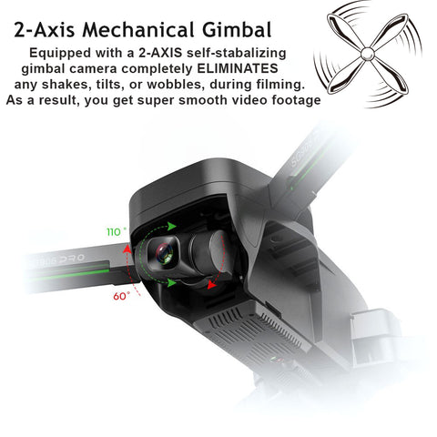 Drone with gimbal