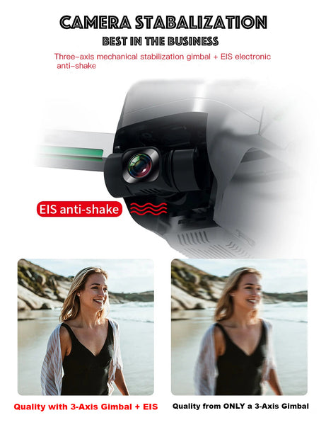 Drone Camera EIS Stabalization