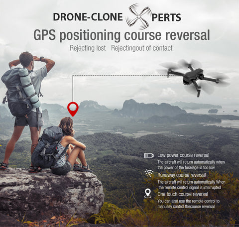 Drone with GPS Auto Return Home RTH