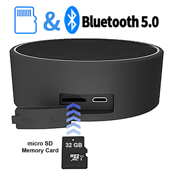Bluetooth Speaker with SD Card Reader