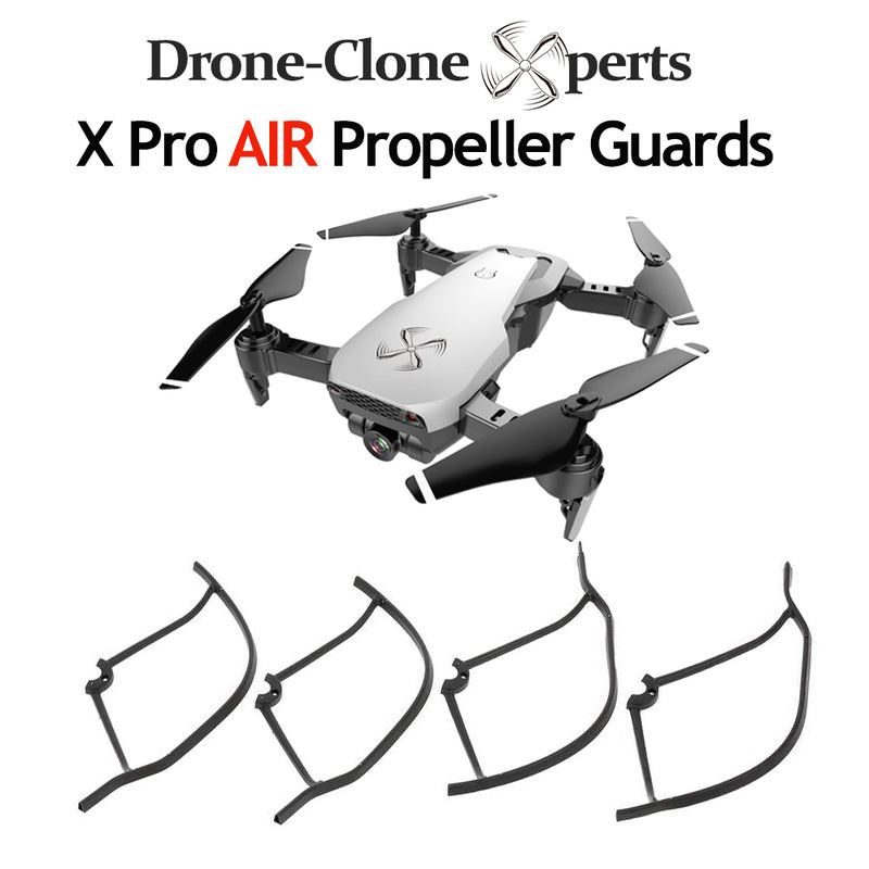 4PCS Propeller Guards for Drone X Pro AIR WiFi FPV RC Quadcopter Spare Parts Prop Guards Blade Shields