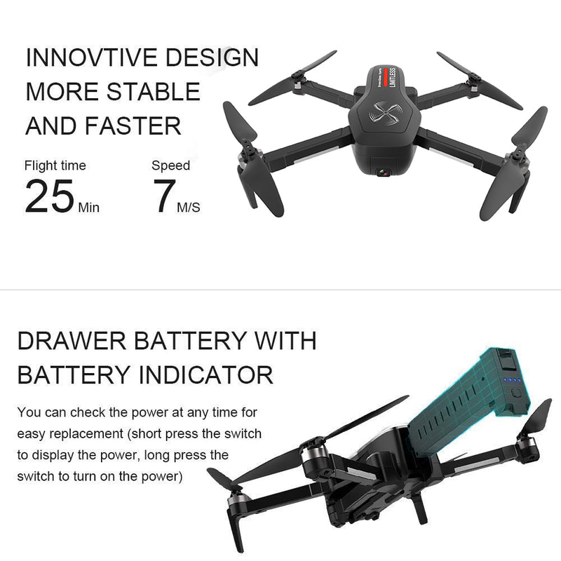 LIMITLESS 4K GPS Drone Spare BATTERY 7.4V 2800mAh
