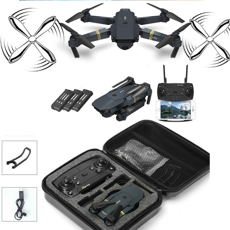 Drone X Pro EXTREME w/ Extra Batteries HD Camera Live Video WiFi FPV Voice Command