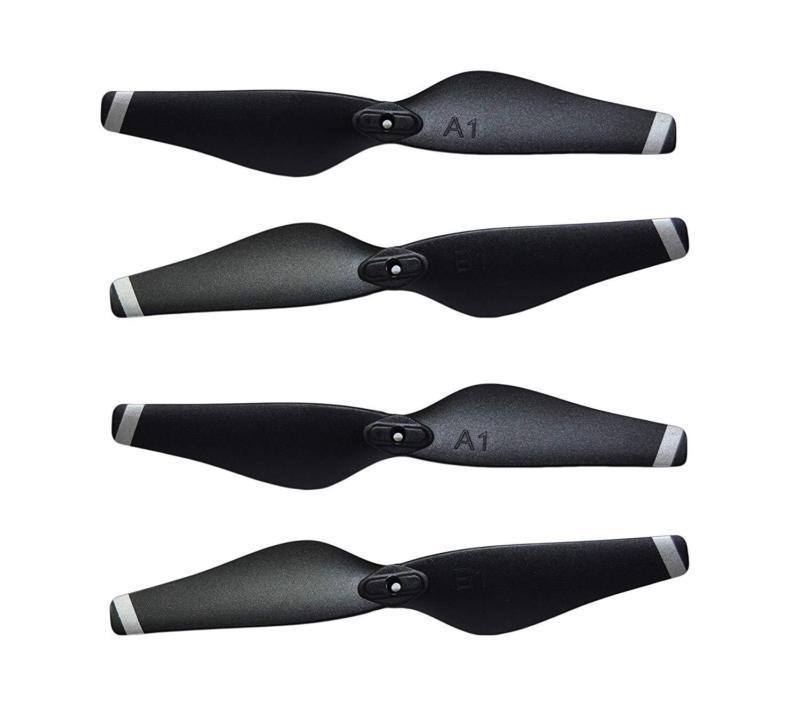 2 Pair Drone X Pro AIR Quadcopter Propellers Drone Spare Parts Propeller Props Blades