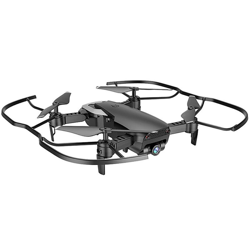 720p HD Wide-Angle Camera Drone WIFI FPV Live Video 1-Key Takeoff/Return/Land (2 Batteries)