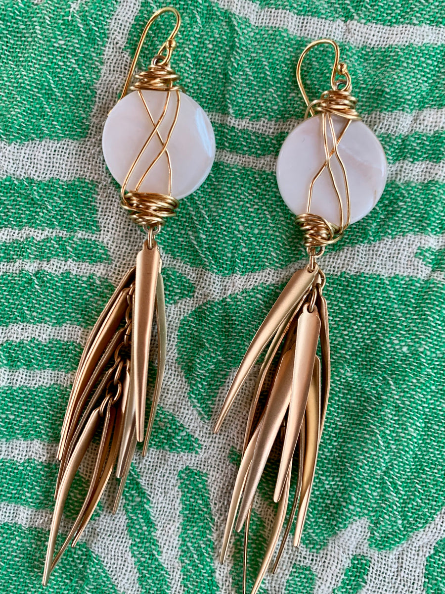 Pearl Wispy earrings