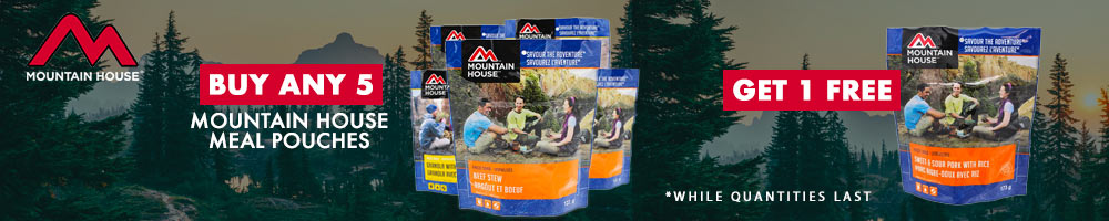 Mountain House #10 Can Packs SALE!!