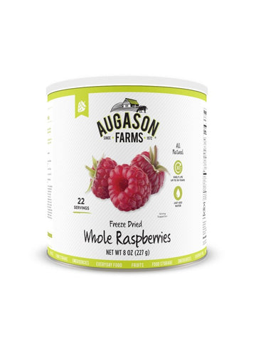 Augason Farms Freeze Dried Whole Raspberries
