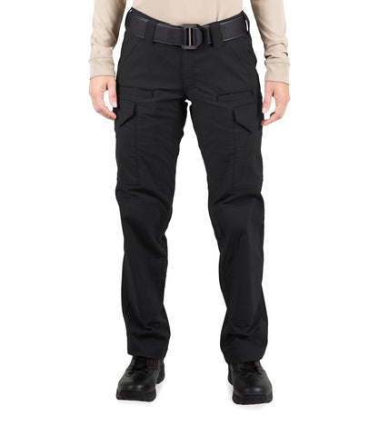 FIRST TACTICAL WOMEN'S V2 TACTICAL PANTS - BLACK