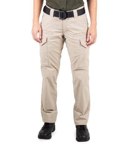 FIRST TACTICAL WOMEN'S V2 TACTICAL PANTS - KHAKI