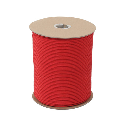Rothco Nylon Paracord 550lb 1000 Ft Spool- Red