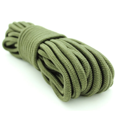 "9MM (3/8"") X 50' ROPE - OLIVE GREENNYLON BRAIDED"