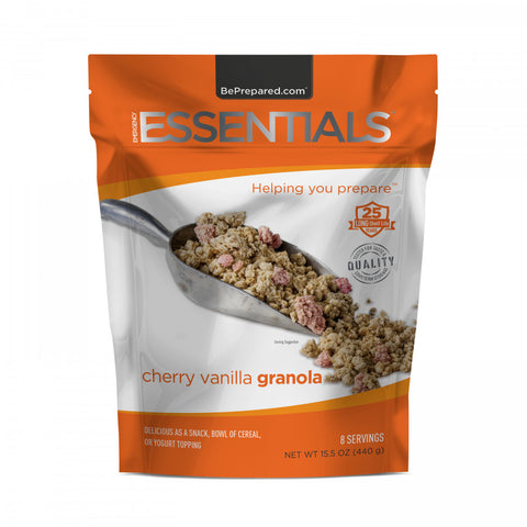 Cherry Vanilla Granola Pouch - Emergency Essentials