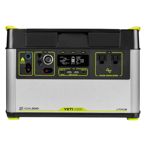 Goal Zero Lithium Yeti 1500X Portable Power Station