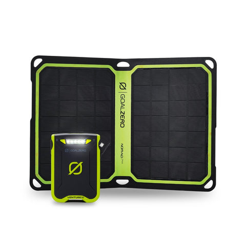 Goal Zero VENTURE 30 POWER BANK + NOMAD 7 PLUS SOLAR KIT