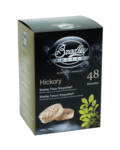 Bradley Flavor Bisquettes - Hickory 48Pk